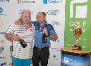 1. turnaj Golf Masters 2019 v Mstěticích vyhrála v novém rekordu 62,4 dvojice Václav Kuna a Jirka Zeman