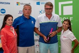 7. turnaj Golf Masters 2019 na Karlštejně vyhrál Vladimír Adamičko