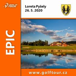 EPIC Golf Tour 2020 - 1. turnaj - Loreta Pyšely (26.5.2020)